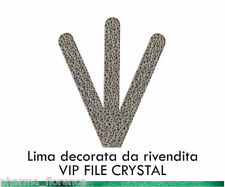 Miss Ky Lima Decorata VIP FILE CRYSTAL Professional Nail Products by KyLua Italy