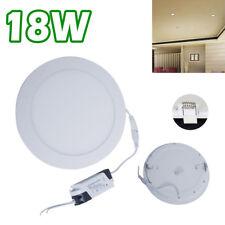 18 Watt Slim Round Ceiling Suspended LED Panel Cool White Light UKES