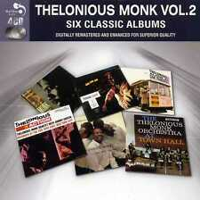 THELONIOUS MONK - VOL. 2 - SIX CLASSIC ALBUMS - 4 CDS - NEW!!