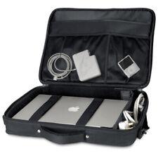 "Quadra Laptop Bag Portfolio Padded Case Up To 17"" Inch Travel Business (QD266)"