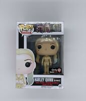 NEW Funko Pop! Suicide Squad #105 Harley Quinn (HQ Inmate) GameStop Exclusive