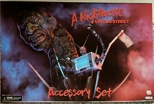 NECA - A NIGHTMARE ON ELM STREET (FREDDY) ACCESSORY SET, (BRAND NEW)