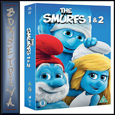 THE SMURFS - 1 & 2 - 2 MOVIE COLLECTION BOXSET *** BRAND NEW DVD***