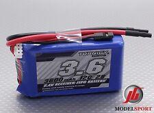 Turnigy 3600mAh 2S 7.4V 12C Batería LiPo Receptor RX Pack JR Futaba Plug