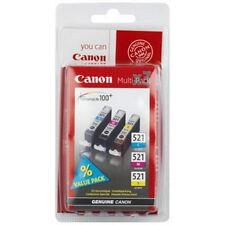 Canon CLI-521 Cyan, Magenta, Yellow Ink Cartridge
