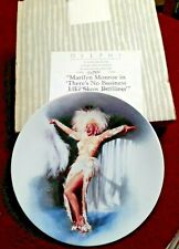 6 Nice 1991 / 92 Bradex All different Marilyn Monroe Plates w Certificates Iobs