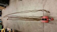 Cm 622 Hand Chain Hoist 2 ton 28 ft lift