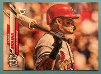 2020 Topps Series 1 - Yadier Molina Vintage Stock /99 St. Louis Cardinals