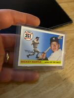 Mickey Mantle 2007 Topps Card #MHR351 New York Yankees Mick Collector League NR