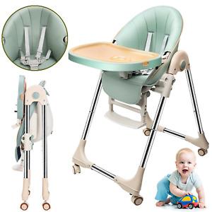 Kinderstuhl Babystuhl Hochstuhl Verstellbar klappbar Kindersitzgruppe Esszimmer