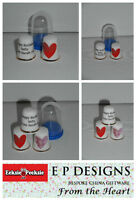BN Personalised Fine Bone China Heart Thimble, Wedding Gift, Engagement Gift