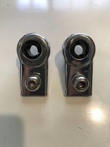 Schwinn Roadster Tricycle Front Axle Bearing  Bracket, Set of 2, with Bolts-Used