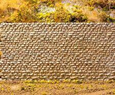 Chooch (HO/N Scale) #8310 Cut Stone Retaining Wall - Small Blocks - NIB