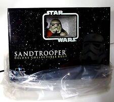 Star Wars Sandtrooper Orange Pauldron Squad Leader Bust Statue Gentle Giant
