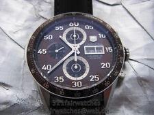 Tag Heuer Carrera Chronograph Caliber 16 Automatik CV2A12, 43 mm, braun