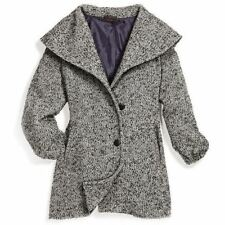 NEW MARK. Avon Need for Tweed Coat Women's Medium Black & White Jacket