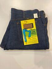 NWT NOS vintage Maverick Big Flare Leg Jeans 38x32 100% cotton USA Blue Bell