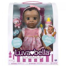 Bambola luvabella – Capelli Marrone Scuro-Africano/Americana reattivo BABY DOLL WIT.