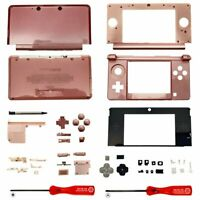 Housing Shell for Nintendo 3DS System Replacement Screen Tools Console Pink