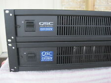 QSC CX1202V Commercial Audio  Power amplifier 1200 W.