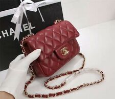 Logo Hot Brand Bag Latest Red Real Leather In Vogue Gift Lady Her Bachelor