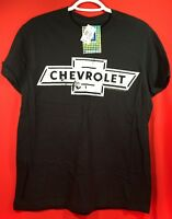 NEW Chevy Chevrolet Logo Men's Graphic Tee Shirt T-Shirt (Medium, Color: Black)