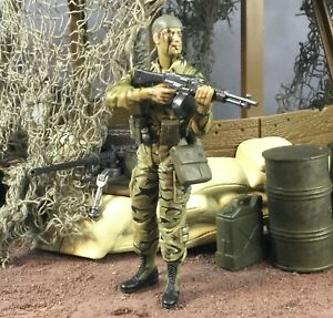 """21st Century Toys Ultimate Soldier Vietnam Navy Seal 1:18 3.75"""" Lot"""