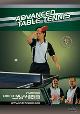 Advanced Table Tennis Instructional DVD - Free Shipping