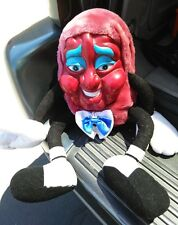 California Raisins Plush Doll Vintage Rubber Face