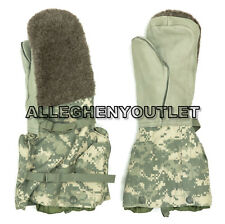US Military ACU Arctic Extreme Cold Weather Mittens & Liner Set ECW Gloves NEW M