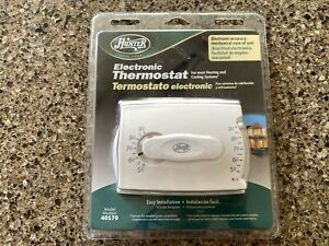 Hunter 40170 Electronic Thermostat Heat/Cool Digital Accuracy Mechanical ease