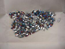 36 swarovski navette stones,10x5mm light siam AB #4200  special price