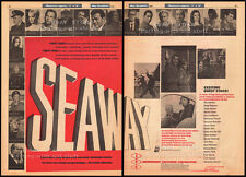 SEAWAY__Orig. 1966 Trade AD__TV promo__STEPHEN YOUNG__AUSTIN WILLIS__RITA MORENO