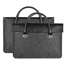 GENORTH 13.3 Inch Leather Laptop Bag for Men & Women Sleeve Case Handbag NEW **