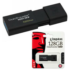 Penna USB 3.0 128 GB Kingston DataTraveler 100 G3 pen drive chiavetta pendrive