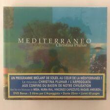 Mediterraneo l'arpeggiata christina pluhar cd + dvd + livret neuf sous blister
