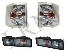 LAND ROVER DISCOVERY 1 1994-1999 FRONT & REAR CLEAR LIGHT SET RH & LH