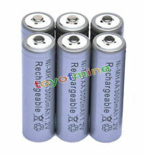 6x AAA 1800mAh 1.2V Ni-MH Rechargeable battery 3A Grey Cell for MP3 RC Toys