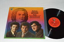 BACH Violinkonzerte Violin Concertos LP 1972 EMI PERLMAN ZUKERMAN BARENBOIM NM