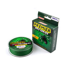 4 Stands 100m Super Strong PE Braided Sea Fishing Line Multifilament Angling Green 0.8/10lb