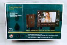 """8"""" Color TFT LCD Video Door Phone"""