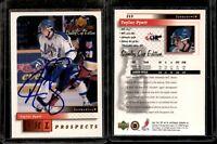 1999-00 Upper Deck MVP SC Edition Hockey #213 Taylor Pyatt On Card AUTOGRAPH