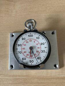 Vintage Heuer Dashboard Rally Dash Timer Stopwatch