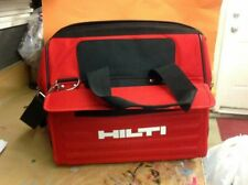New Hilti Heavy Duty Construction / Tool Bag - Red / Black with Shoulder Strap