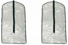 Zipped Dress Protective Cover Bag Suit Shirt Garment Gown Storage Coat Clothes