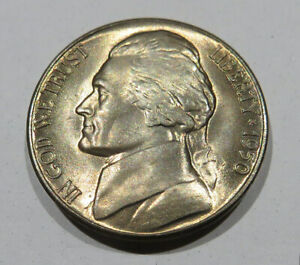 1950 D Jefferson Nickel BU Uncirculated Five Cent Coin #4