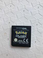 Pokemon: Black Version (Nintendo DS, 2011) CART ONLY