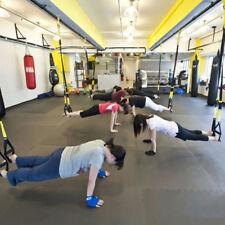 TRX Trainingsgürtel Tragesystem Fitness-Band-Stärken-Training Yellow Neu