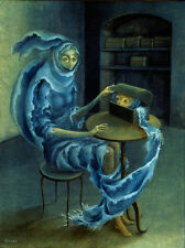 Meeting   by Remedios Varo   Giclee Canvas Print Repro