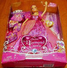 NEW UNOPENED Barbie The Diamond Castle Princess Liana  12 Inch Singing Doll